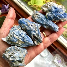 Blue Kyanite Crystal Chunk